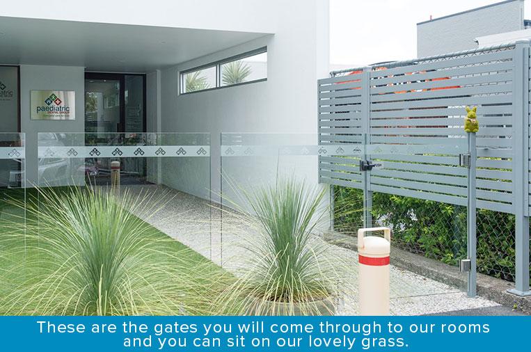 PDG Front gate